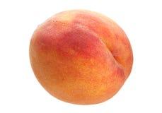 Fruto do pêssego no branco Fotografia de Stock Royalty Free