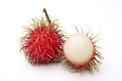 Fruto do Rambutan Imagens de Stock