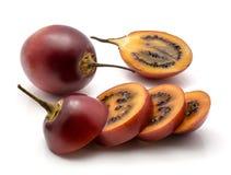 Fruto do Tamarillo isolado Fotos de Stock Royalty Free