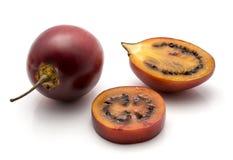 Fruto do Tamarillo isolado Foto de Stock Royalty Free