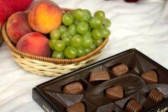 Fruto e doces Foto de Stock