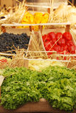 Fruto e exposição de Veg, Friuli Doc Fotos de Stock Royalty Free