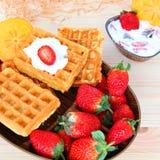 Fruto e sobremesa dos doces Imagem de Stock Royalty Free