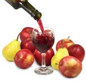 Fruto e vinho Imagens de Stock Royalty Free