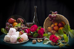 Fruto e zéfiro Foto de Stock Royalty Free