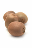 Fruto fresco do kivi no fundo branco Imagem de Stock