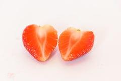 Fruto fresco isolado morango Imagem de Stock Royalty Free