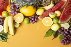 Fruto fresco imagens de stock