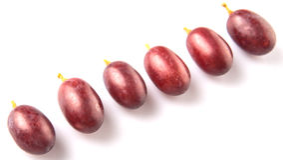 Fruto IV da uva vermelha Foto de Stock