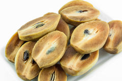 Fruto maduro do sapodilla Imagens de Stock Royalty Free