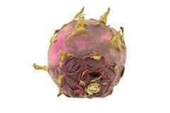 Fruto podre do dragão isolado Foto de Stock Royalty Free