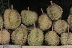 Fruto quente dos durians da compra em Tailândia Fotografia de Stock Royalty Free