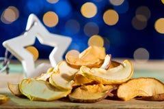 Fruto seco com estrela do Natal Imagens de Stock Royalty Free