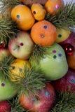 Fruto sortido para o feriado imagem de stock royalty free