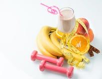 fruto suculento do milk shake Imagem de Stock