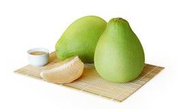 Fruto suculento fresco do pomelo Imagem de Stock