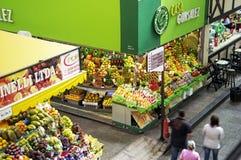 Fruto tropical no Sao Paulo Central Market Fotografia de Stock Royalty Free