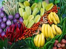 Fruto & vegetais Foto de Stock