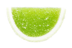 Fruto verde Jelly Isolated Imagens de Stock