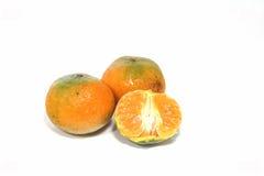 Frutos alaranjados verdes tailandeses Imagem de Stock