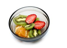 Frutos cortados mim Fotos de Stock