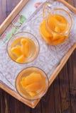 Frutos cozidos do verão Fotografia de Stock