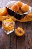 Frutos cozidos do verão Fotos de Stock Royalty Free