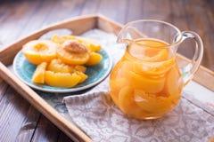 Frutos cozidos do verão no jarro Imagens de Stock