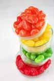 Frutos cristalizados coloridos imagem de stock royalty free