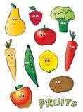 Frutos da criança Foto de Stock Royalty Free