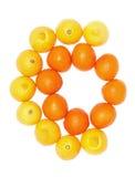Frutos da laranja e do limão imagem de stock