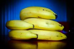 Frutos das bananas foto de stock royalty free