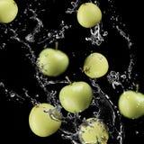 Frutos das maçãs imagem de stock