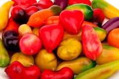 Frutos de imitação Deletable Fotografia de Stock Royalty Free