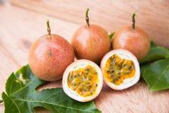 Frutos de paixão Foto de Stock Royalty Free