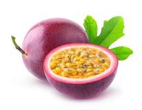 Frutos de paixão isolados Imagem de Stock