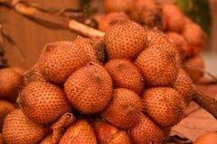 Frutos de Salacca Foto de Stock Royalty Free