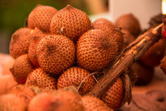 Frutos de Salacca Fotos de Stock