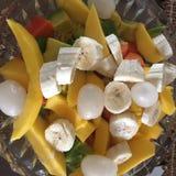 Frutos do café da manhã imagem de stock