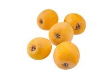 Frutos do Loquat Fotos de Stock