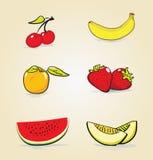 Frutos do verão Fotografia de Stock