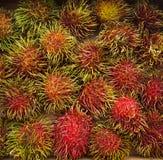 Frutos doces do rambutan Imagens de Stock