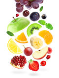 Frutos e bagas da cor Imagens de Stock