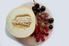 Frutos e bagas do verão Imagem de Stock