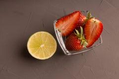 Frutos e citrino imagens de stock