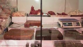 Frutos e porcas secados para a venda no mercado autêntico, ` máximo s Sri Lanka de Adam, o 15 de janeiro Imagem de Stock