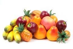 Frutos exóticos solated no branco Imagens de Stock