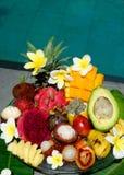 Frutos exóticos tropicais imagens de stock