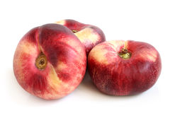 Frutos lisos frescos do pêssego Imagem de Stock