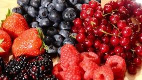 Frutos macios video estoque